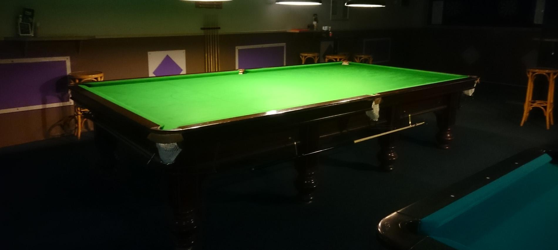 De enige snookertafel in Leeuwarden